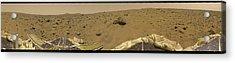 360 Degree Panorama Mars Pathfinder Landing Site Acrylic Print