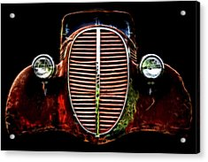 37 Chevy Acrylic Print