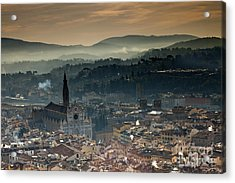 Florence Acrylic Print by Andre Goncalves