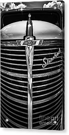 38 Chevy Truck Grill Acrylic Print