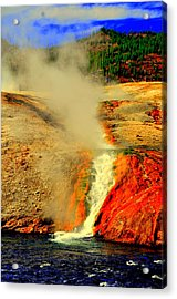 Yellowstone Park Acrylic Print by Aron Chervin
