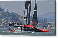 America's Cup Oracle Acrylic Print by Steven Lapkin