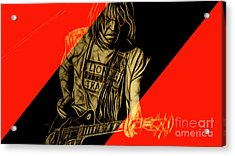 Neil Young Collection Acrylic Print by Marvin Blaine