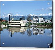 3b6380 Petaluma Queen Riverboat Acrylic Print