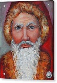 3d Santa Acrylic Print