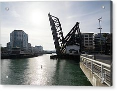 3rd Street Bridge Lefty O'doul Bridge San Francisco Dsc5778 Acrylic Print