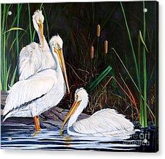 3's Company Acrylic Print