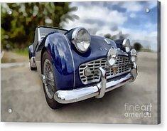 1962 Triumph Tr3 Acrylic Print