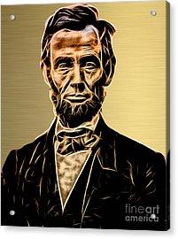 Abraham Lincoln Collection Acrylic Print