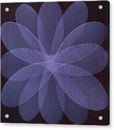 Abstract Flower  Acrylic Print by Jitka Anlaufova