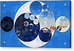 Abstract Painting - Midnight Express Acrylic Print by Vitaliy Gladkiy