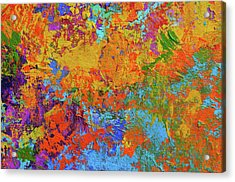 Abstract Painting Modern Art Contemporary Design Acrylic Print