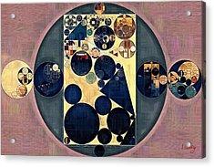 Abstract Painting - New Tan Acrylic Print by Vitaliy Gladkiy
