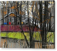 Across The Creek Acrylic Print by Donald Maier