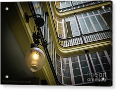 Acrylic Print featuring the photograph Apartment In The Heart Of Cadiz by Pablo Avanzini