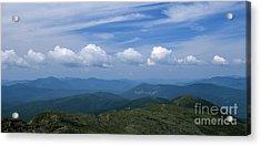 Appalachian Trail - White Mountains New Hampshire Usa Acrylic Print by Erin Paul Donovan