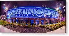 April 2015 - Birmingham Alabama Regions Field Minor League Baseb Acrylic Print by Alex Grichenko