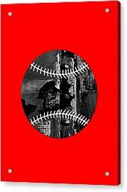 Baseball Collection Acrylic Print