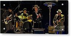 Bob Dylan Acrylic Print by David Oppenheimer