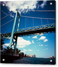Bridge Across A River, Ambassador Acrylic Print