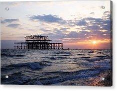 Brighton Acrylic Print