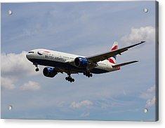 British Airways Boeing 777 Acrylic Print
