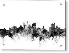 Cambridge England Skyline Acrylic Print