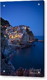Acrylic Print featuring the photograph Cinque Terre by Brian Jannsen