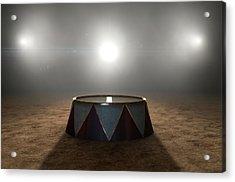 Circus Ring And Podium  Acrylic Print by Allan Swart