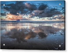 Coastal Reflections Acrylic Print by Andrew Soundarajan