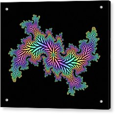 Computer-generated Julia Fractal Acrylic Print