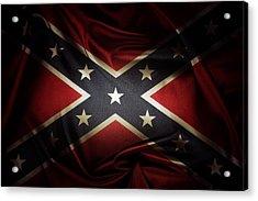 Confederate Flag 11 Acrylic Print