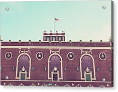 Convention Hall Acrylic Print by Erin Cadigan