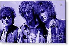 Cream Eric Clapton Jack Bruce Ginger Baker Acrylic Print by Marvin Blaine