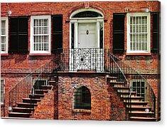 Davenport House Acrylic Print by JAMART Photography