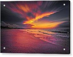 Dominicana Beach Acrylic Print
