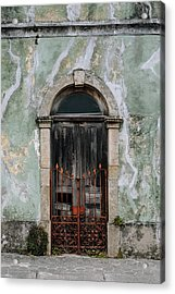 Acrylic Print featuring the photograph Door With No Number by Marco Oliveira