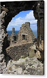 Dunluce Castle Northern Ireland Acrylic Print by Pierre Leclerc Photography
