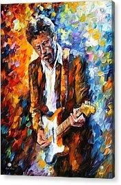 Eric Clapton Acrylic Print