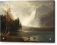 Estes Park, Colorado, Whyte's Lake Acrylic Print