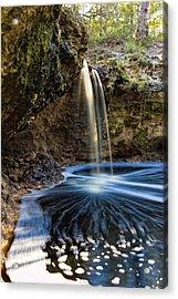 Falling Creek Falls Acrylic Print by Rich Leighton