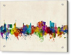 Fayetteville Arkansas Skyline Acrylic Print