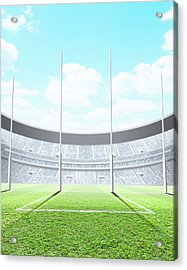 Floodlit Stadium Day Acrylic Print