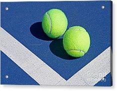 Florida Gold Coast Resort Tennis Club Acrylic Print by ELITE IMAGE photography By Chad McDermott