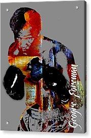 George Foreman Collection Acrylic Print