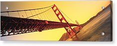 Golden Gate Bridge San Francisco Ca Usa Acrylic Print by Panoramic Images