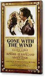 Gone With The Wind, 1939 Acrylic Print by Granger