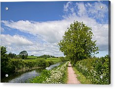 Grand Western Canal Acrylic Print