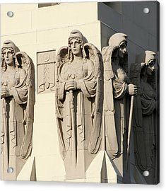 4 Guardian Angels Acrylic Print