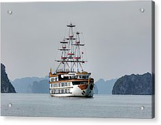 Halong Bay - Vietnam Acrylic Print by Joana Kruse